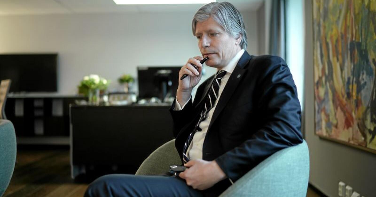 Klima- og miljøminister Ola Elvestuen. Foto: Ketil Blom Haugstulen
