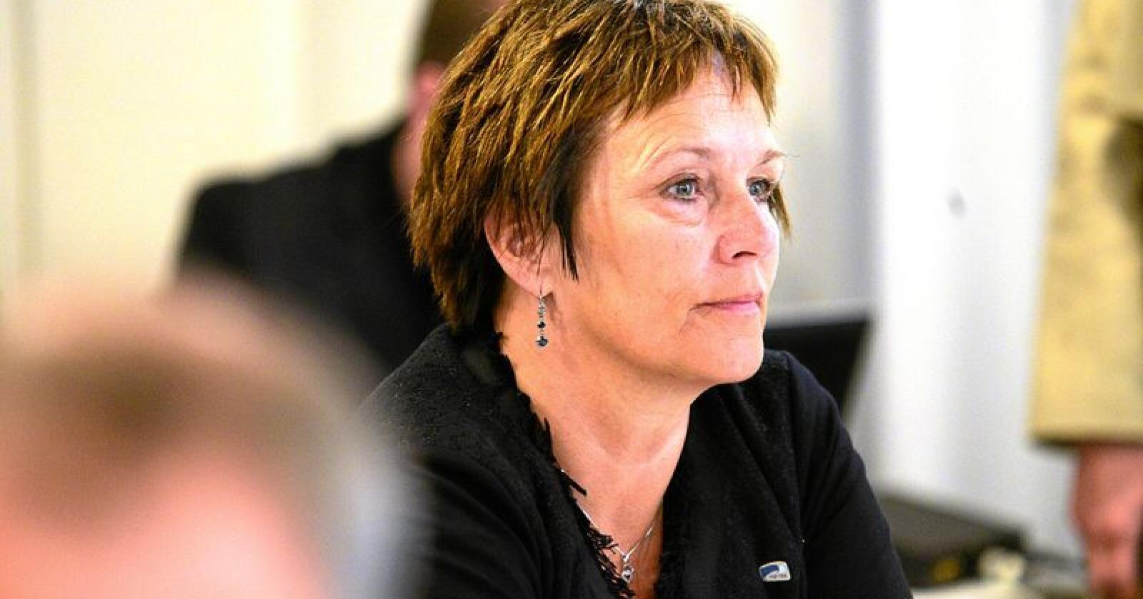 Margunn Ebbesen, stortingsrepresentant for Høyre. Foto Siri Juell Rasmussen