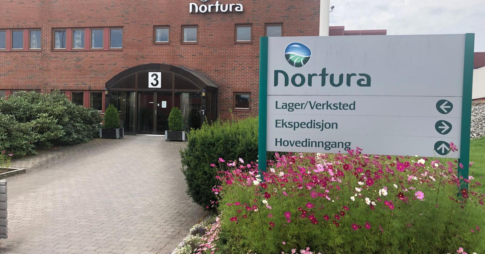 Nortura Tønsberg vil få et kjempeløft om rammeplanen for ny industristruktur blir fasit. Ved dette anlegget vil det bli opptil 150 nye arbeidsplasser totalt, om hele rammeplanen realiseres. (Foto: Nortura)