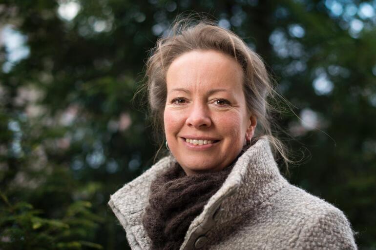 Regine Andersen i Oikos er glad for at så mange organisasjoner har valgt å tilslutte seg kampanjen. Foto: Skjalg Bøhmer Vold