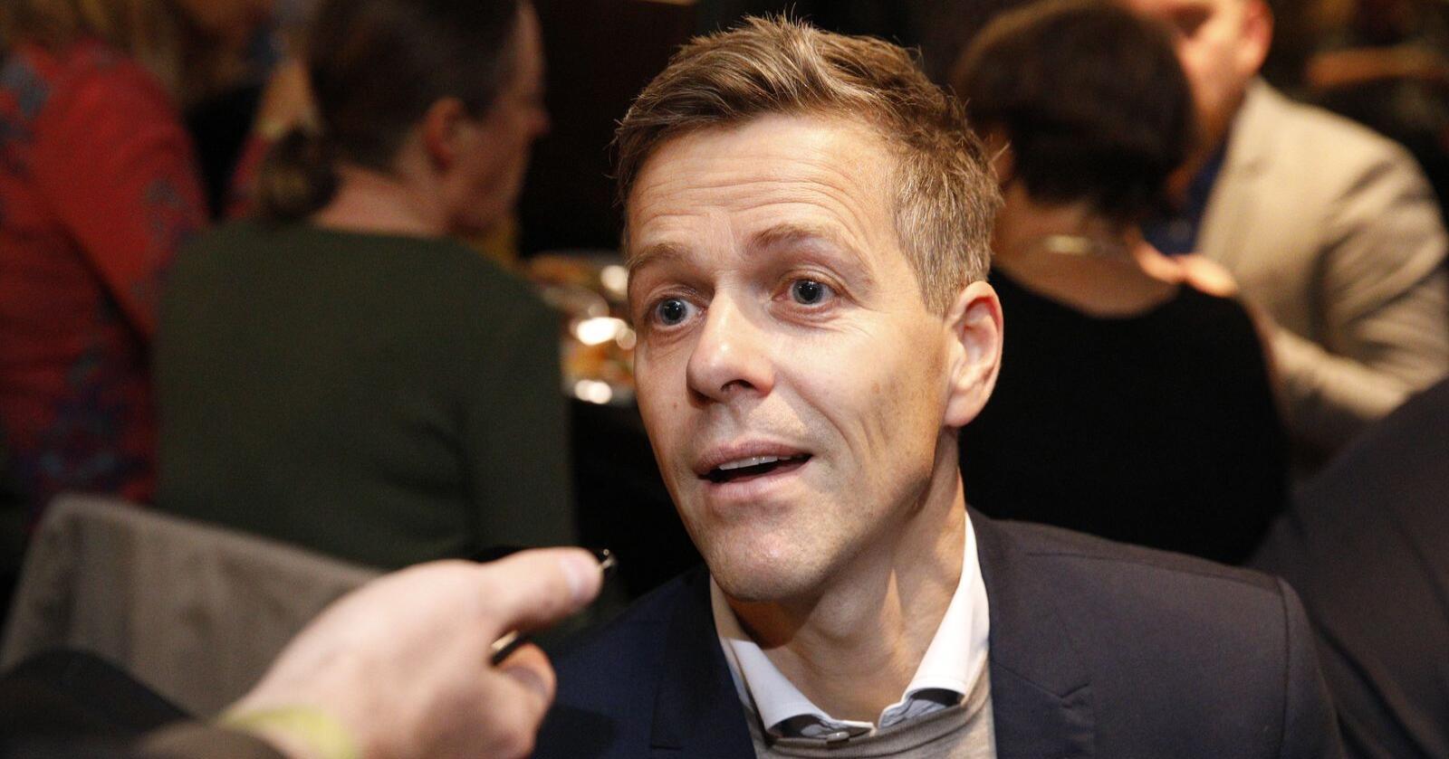 Oslo 20190909. Knut Arild Hareide under valgvaken til KrF på Røverstaden i Oslo.Foto: Audun Braastad / NTB scanpix