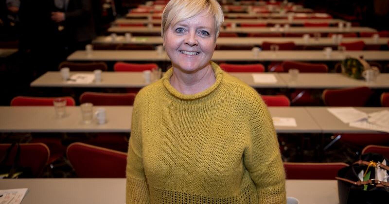 Fylkesordførar Solveig Ege Tengesdal. Foto: Carina Johansen / NTB Scanpix