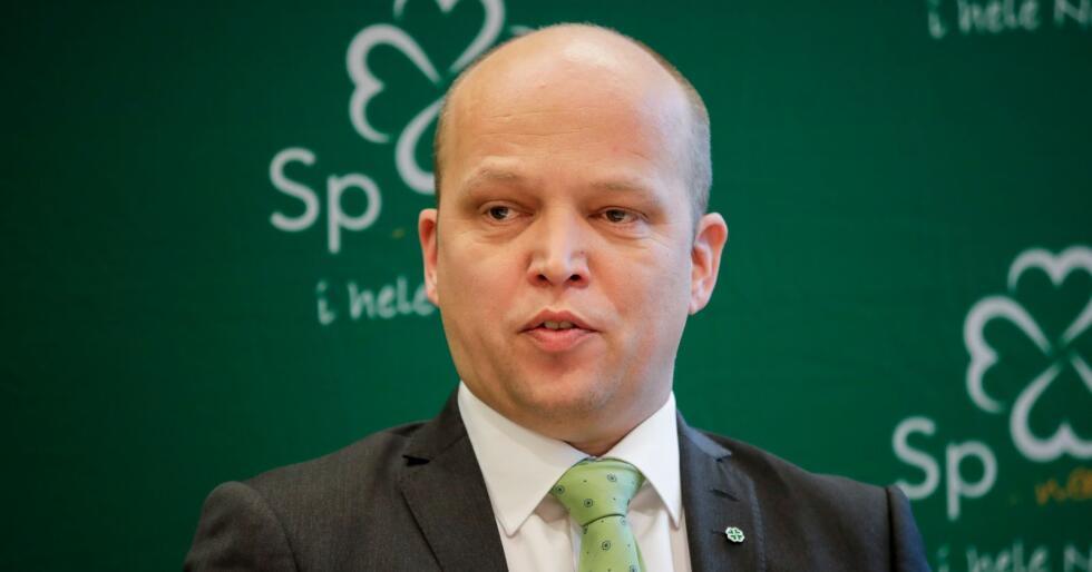 Sp-leder Trygve Slagsvold Vedum frykter norsk industri lider hvis NorthConnect bygges. Foto: Vidar Ruud / NTB scanpix