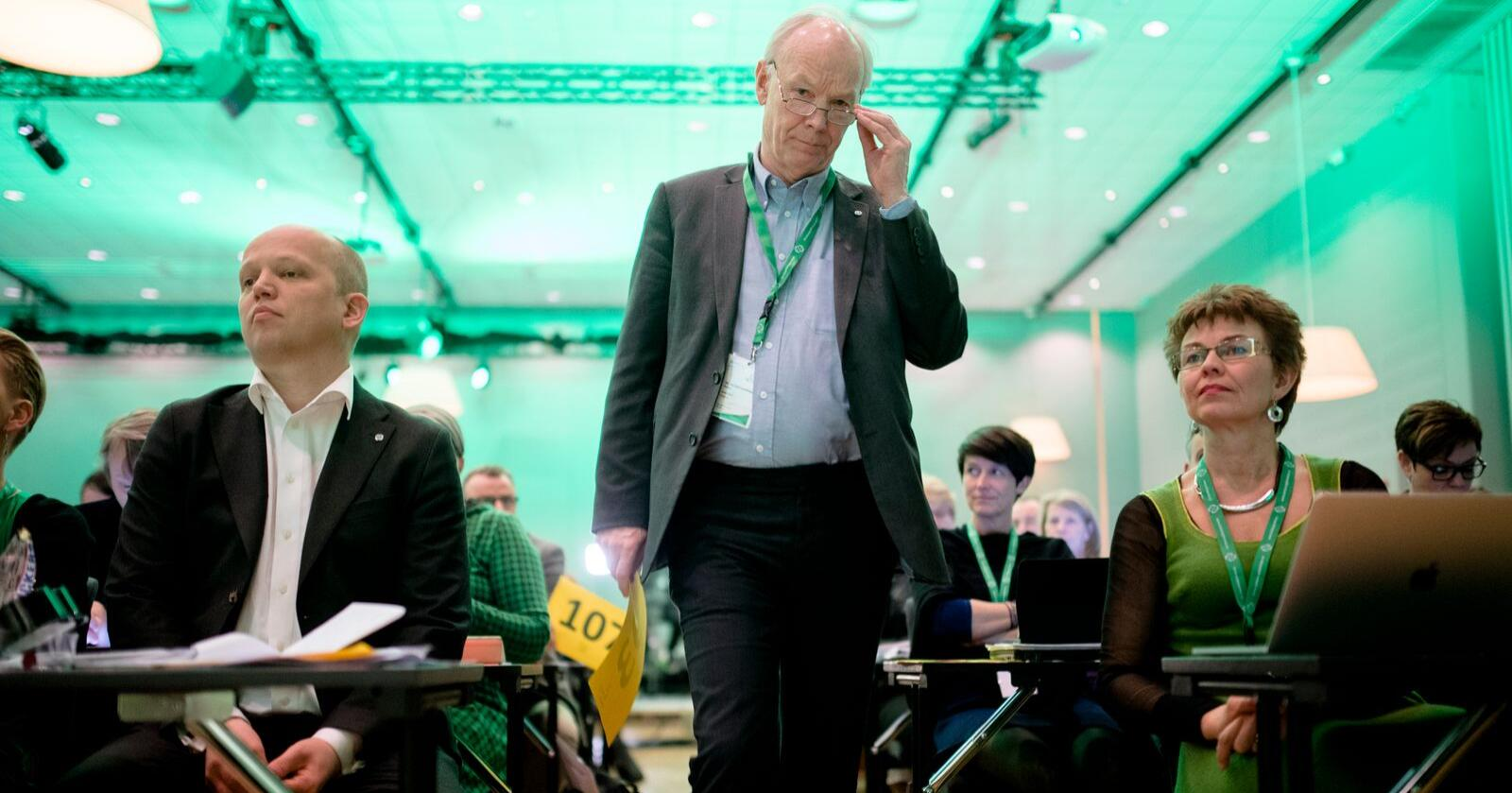 Per Olaf Lundteigen husker godt sist Senterpartiet satt i regjering. Foto: Ole Martin Wold/ NTB