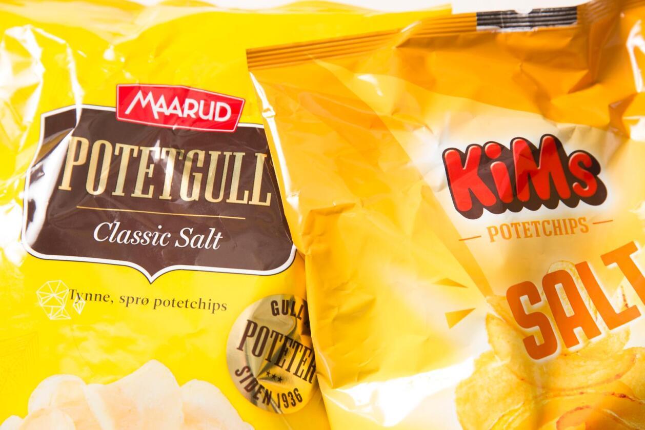 De to chipsprodusentene Kims og Maarud har vært uenige om hvem som hadde retten til å bruke betegnelsen potetgull. Nå har høyesterett satt punktum i saken.
