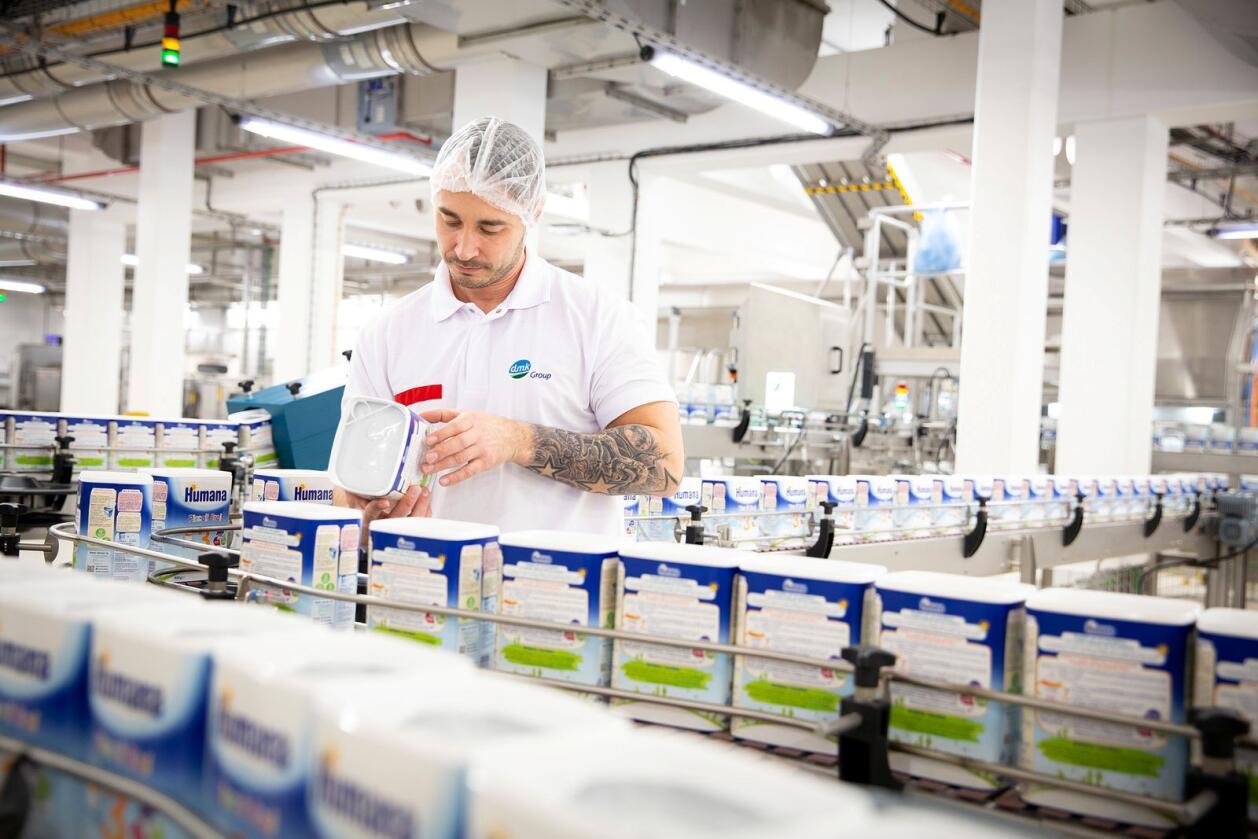 Det største tyske samvirkemeieriet, Deutsche Milchkontor, er i priskrig med en stor dagligvarekjede. Foto: Milram