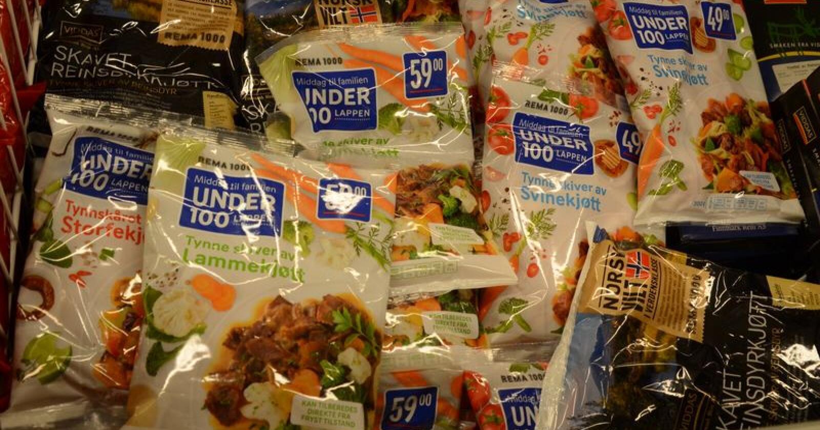 I tillegg til at vi spiste litt mer lam og fjørfe, økte også kategorien «uspesifisert». Det er i hovedsak et annet ord for kjøtt vi har kjøpt på den andre siden av grensen. Foto: Linda Sunde