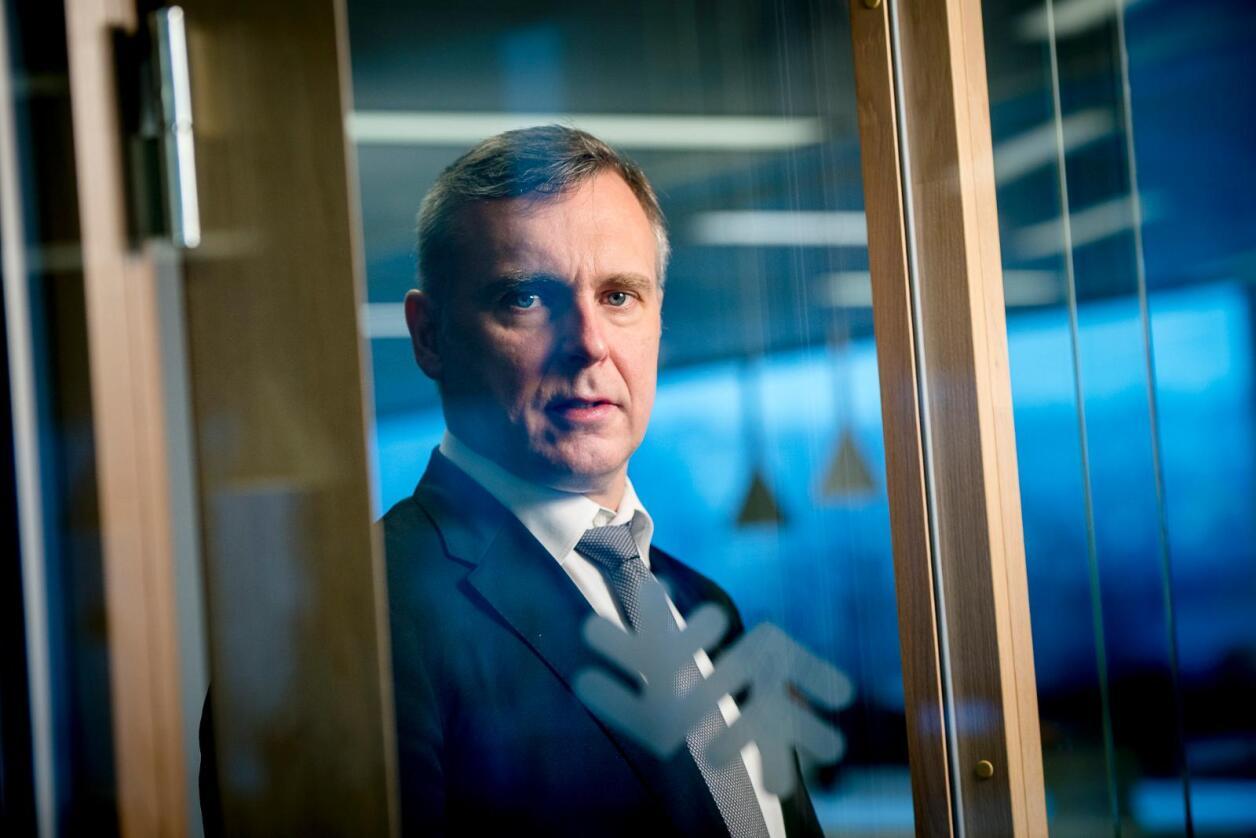 Norske Skog sliter, og nå vurderer konsernsjef Sven Ombudstvedt å søke beskyttelse mot misfornøyde aksjonærer og kreditorer. Foto: Skjalg Bøhmer Vold