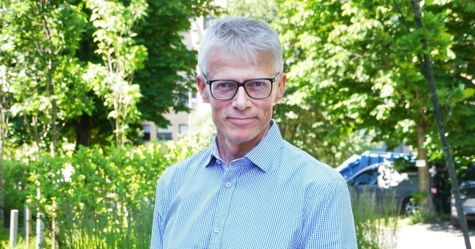 Hans Christian Holte, direktør i Nav. Foto: Privat
