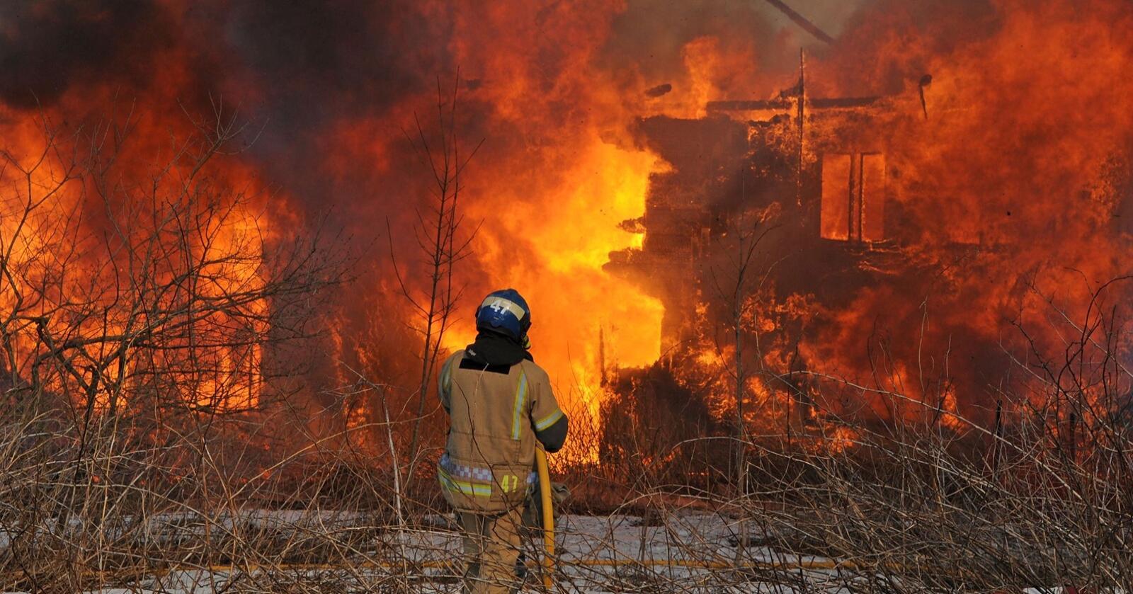 Ødelegger alt: Klimapolitikken må treffe klimaet, ikke alle andre gode formål. Foto: DSB/Sivilforsvaret