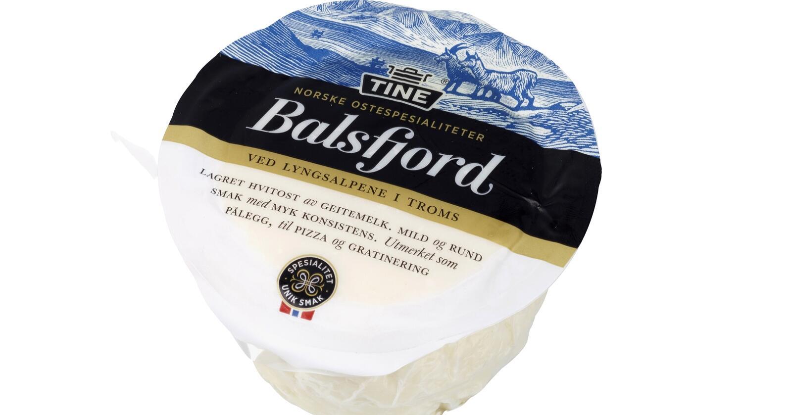 Forsvinner: Etter å ha sett på andre alternativer har Tine besluttet å ikke gjenoppta produksjonen av Balsfjordost. Foto: Tine