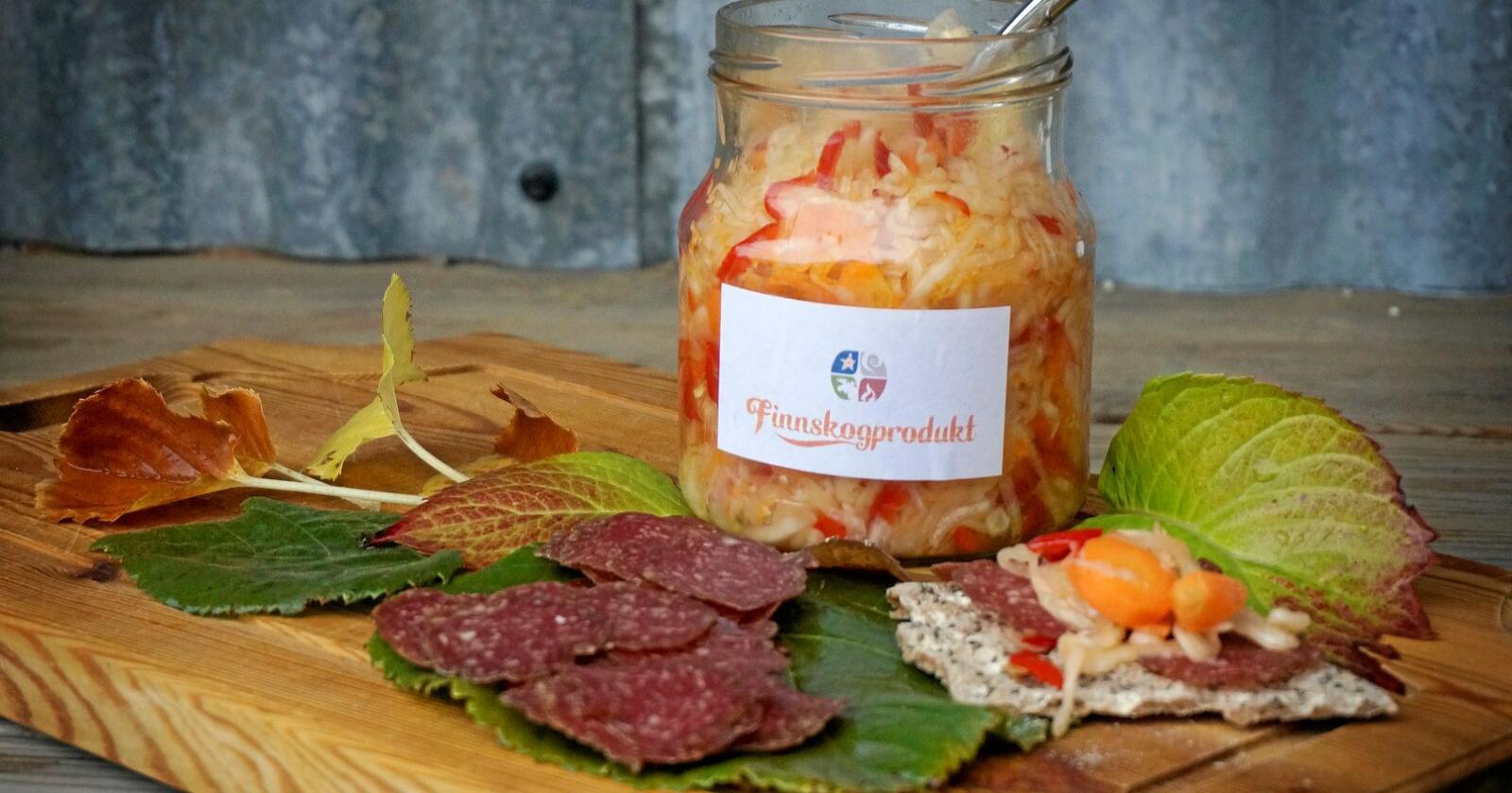 Lokalmat, som mat frå Finnskogmat, kan snart være produsert med pengar frå folket. Foto: Mariann Tvete