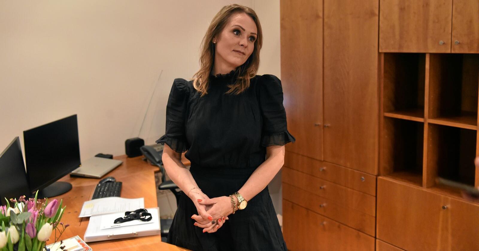 Distriktsminister: Linda Hofstad Helleland (H). Foto: Fredrik Varfjell/NTB scanpix