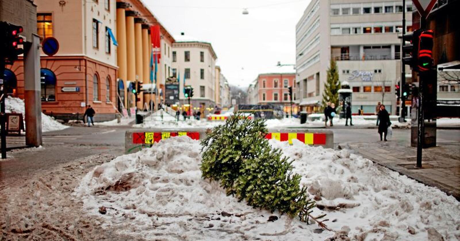 Jule-yolo: Livet er meir enn julefeiring, og takk og lov for det, skriv Nationen-spaltist Inger Johanne Sæterbakk. Foto: Stian Lysberg Solum / SCANPIX