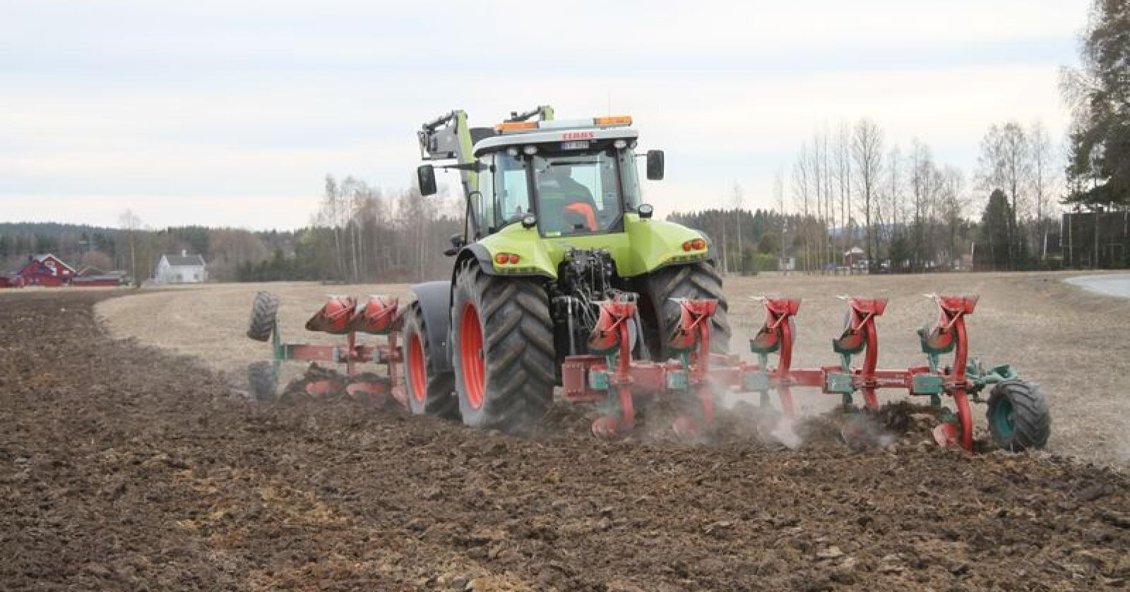 Kina kan bli ein stor marknad for Kverneland. Foto: Espen Syljuåsen