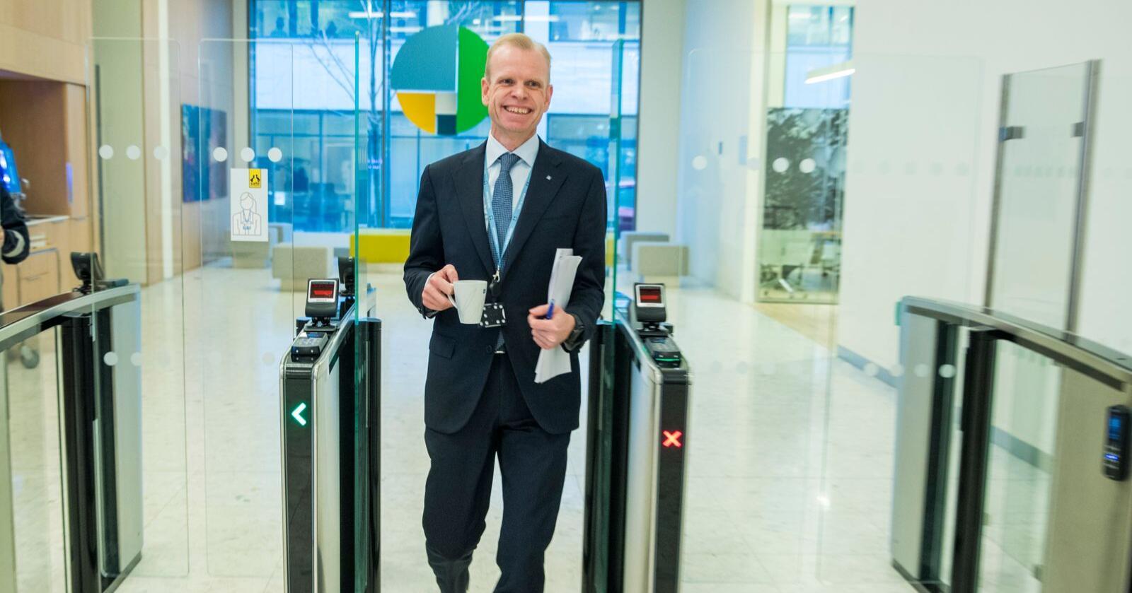 Yaras toppsjef Svein Tore Holsether er innstilt som ny president i NHO. Foto: Terje Pedersen / NTB