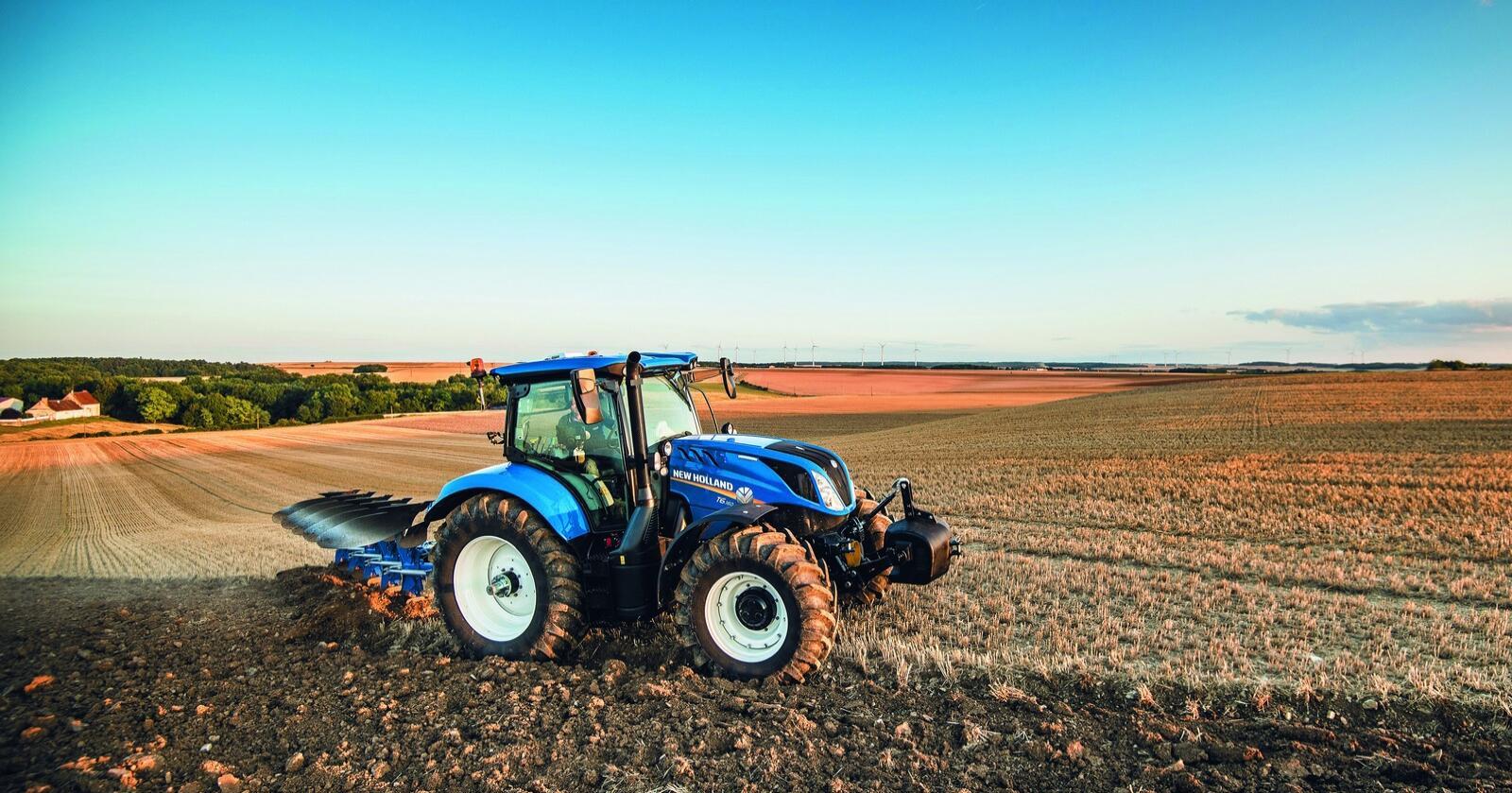 Seks sylindre: New Holland lanserer  T6.160 med sekssylindret motor og 135 hestekrefter.