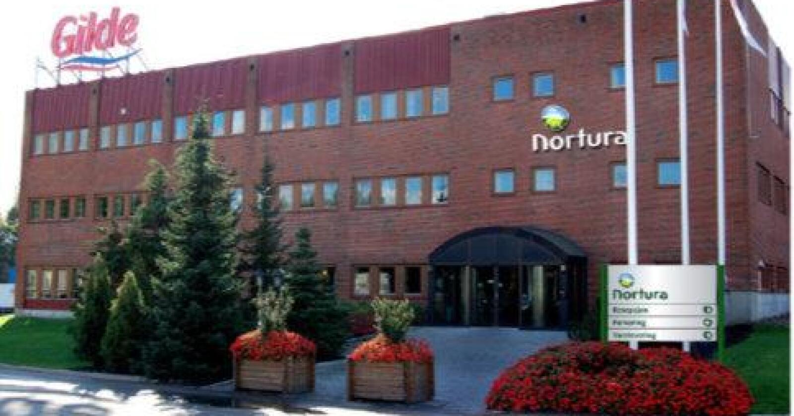 Etter planen, skal den nye slaktelinja i Tønsberg stå klar i august 2022. På bildet sees Norturas anlegg i Tønsberg per 2020. Foto: Nortura