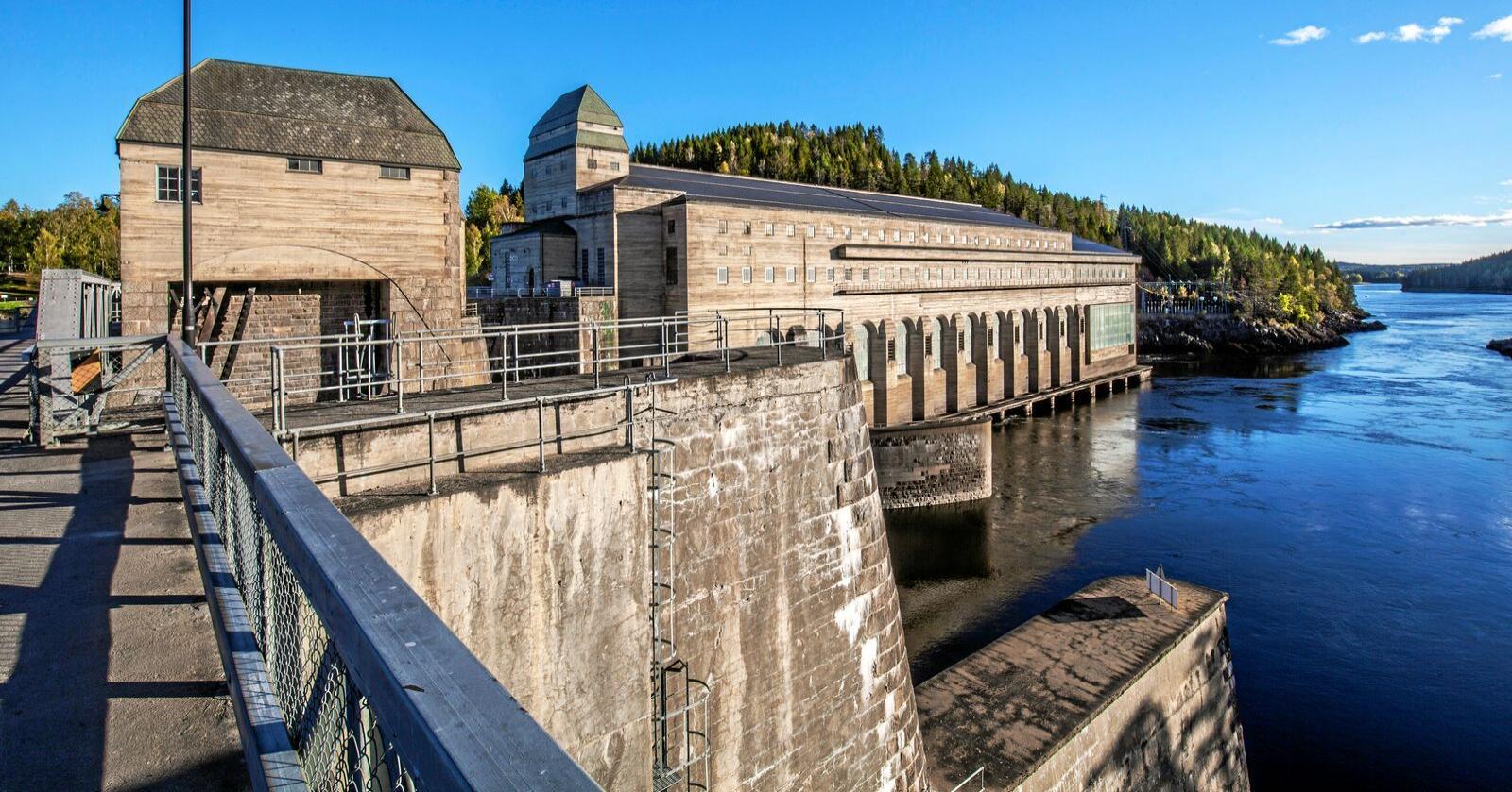 Har potensial: Det kan bli produsert meir vasskraft i Noreg. Foto: Halvard Alvik, NTB scanpix