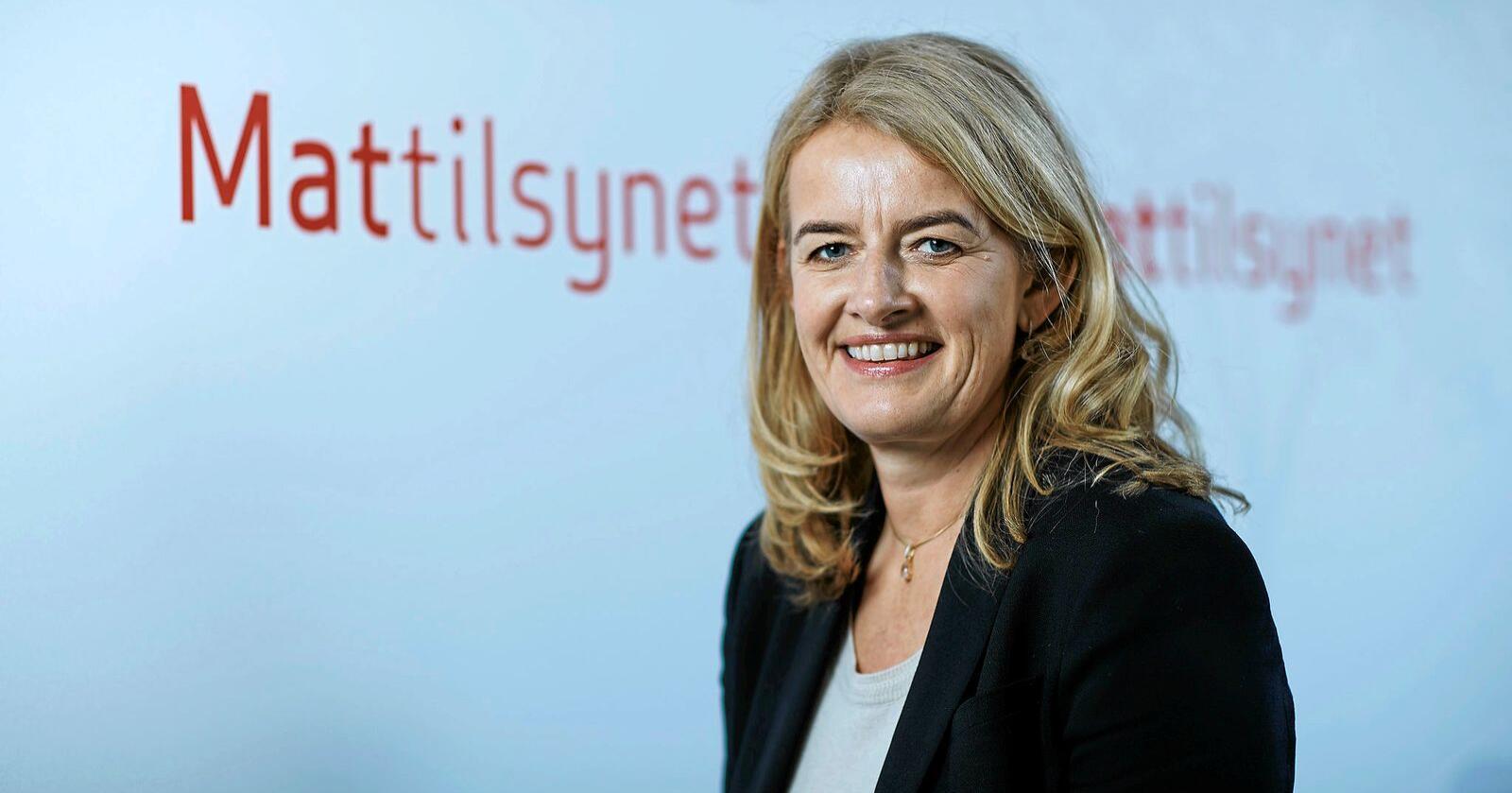Ingunn Midttun Godal, administrerende direktør i Mattilsynet