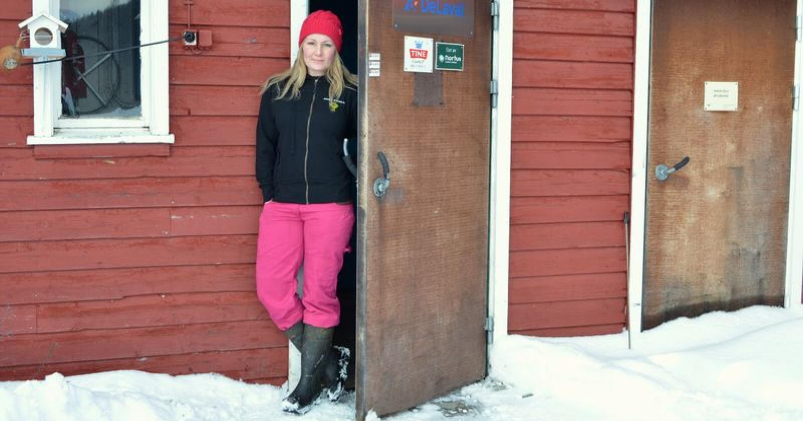 Still krav: – Forlang at din matbutikk, din kafé og ditt hotell også skal handle lokalt, sier Bjørnhild Vigerust. (Foto: Privat)
