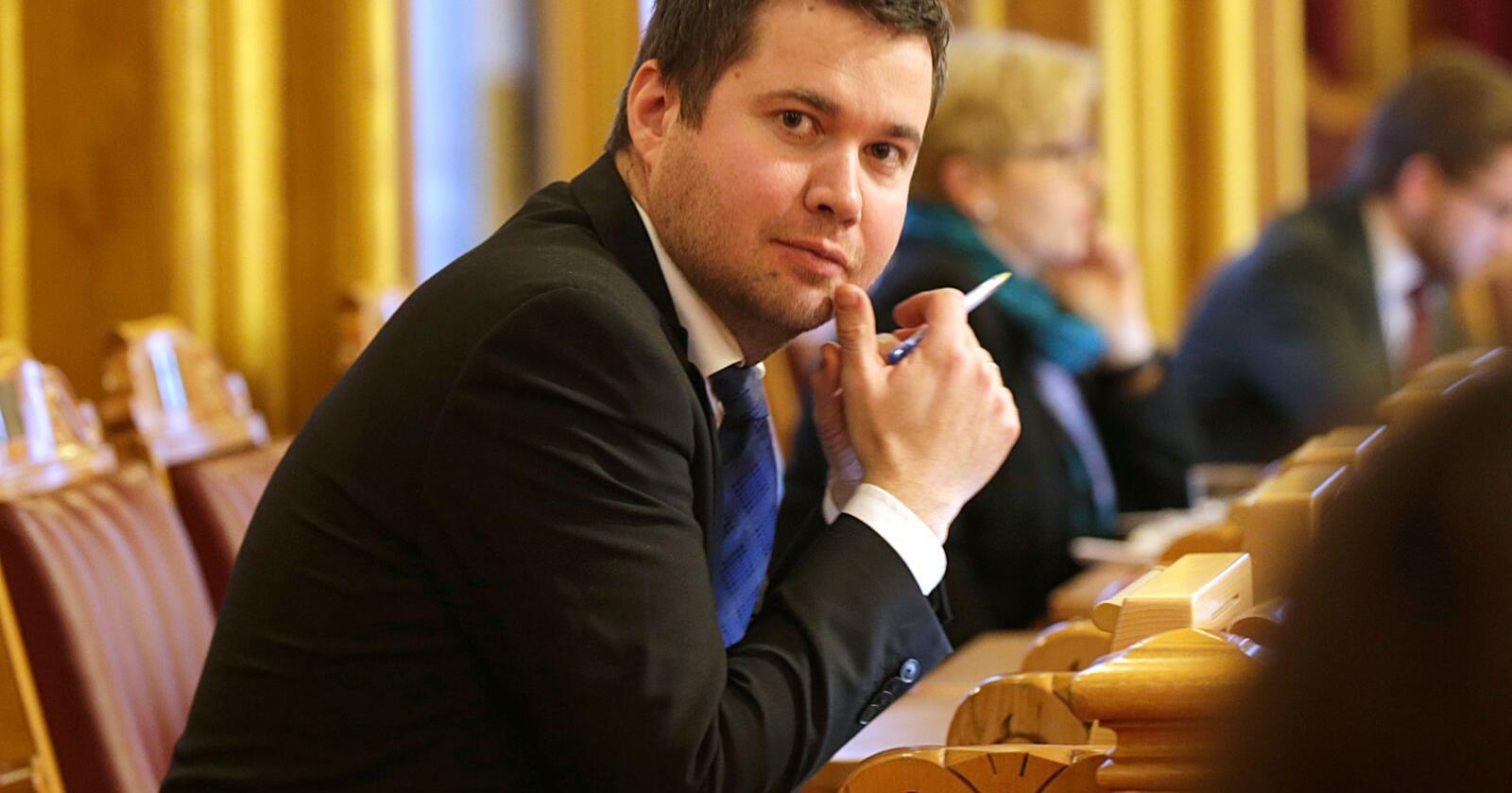 Stortingsrepresentant Geir Pollestad (Sp) vil ha debatt om kjøttbeinmjøl. Foto: Vidar Ruud / NTB scanpix
