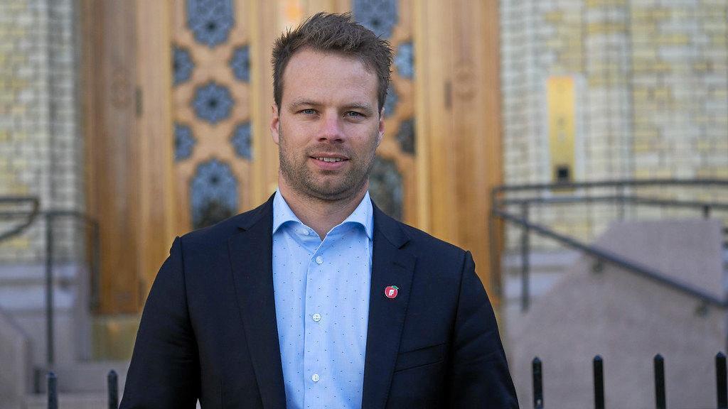Jon Helgheim, innvandringspolitisk talsmann for Frp: Foto: Frp