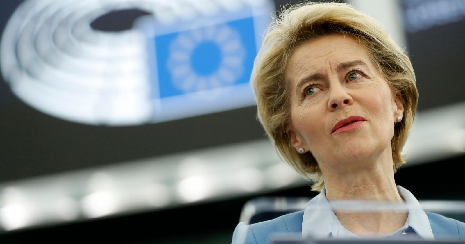 EU-kommisjonens nye president Ursula von der Leyen har lovet storstilt avkarbonisering av energisystemene i EU. Det betyr at også naturgass på sikt må ut. Foto: Jean-François Badias / AP / NTB scanpix