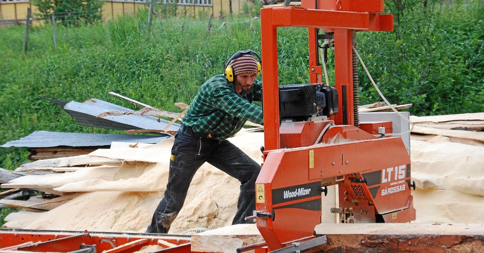 Når det skal skapes nye, grønnere arbeidsplasser for framtida er det nødvendig også ed gammel håndverkskunnskap og kompetanse på bygningstradisjoner. Foto: Lars Kristian Steen