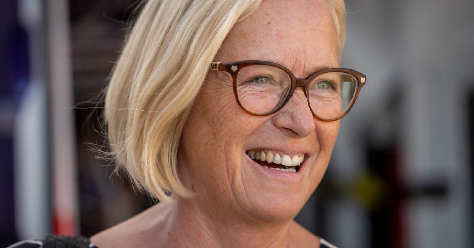 Marit Arnstad fortsetter som parlamentarisk leder i Senterpartiet. Foto: Ole Berg-Rusten / NTB