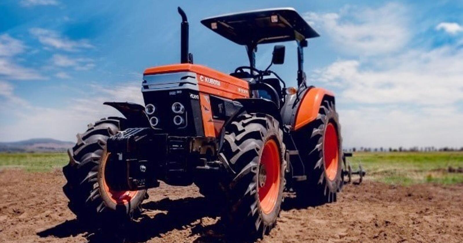 Kubota Escort- traktorene er teknisk enklere saker enn hva vi er vant til her på berget. (Foto: Kubota Corporation)