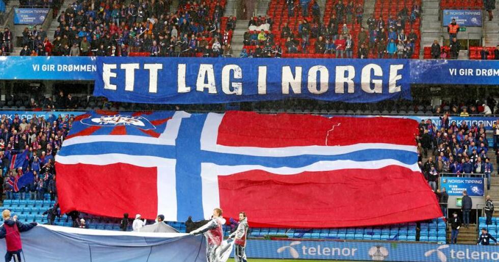 Lagspiller: Selvsagt hater Vålerenga-supportere «bønda», altså folk som ikke holder med «Enga», men det får være grenser, skriver leserbrevforfatteren, som selv er Vålerenga-supporter. Foto: Heiko Junge / NTB Scanpix