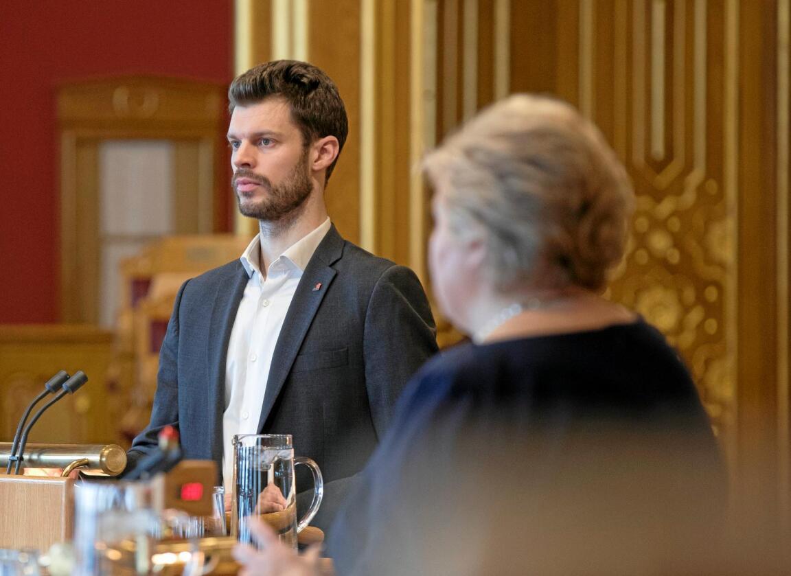 Bekymret for folkestyret: Stortingsrepresentant for Rødt, Bjørnar Moxnes. Foto: Vidar Ruud / NTB scanpix