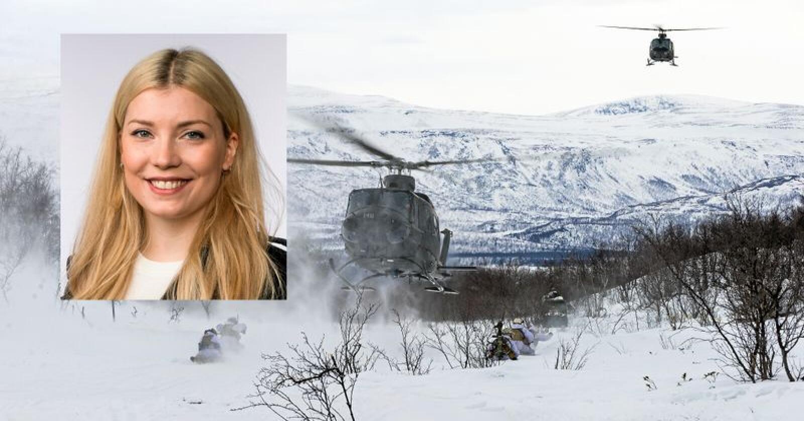 Bell-helikopterne stasjonert på Bardufoss brukes under øvelser for Hæren, men har også bistått i mange sivile beredskapssammenhenger. Foto: Ole-Sverre Haugli / Hæren / Stortinget