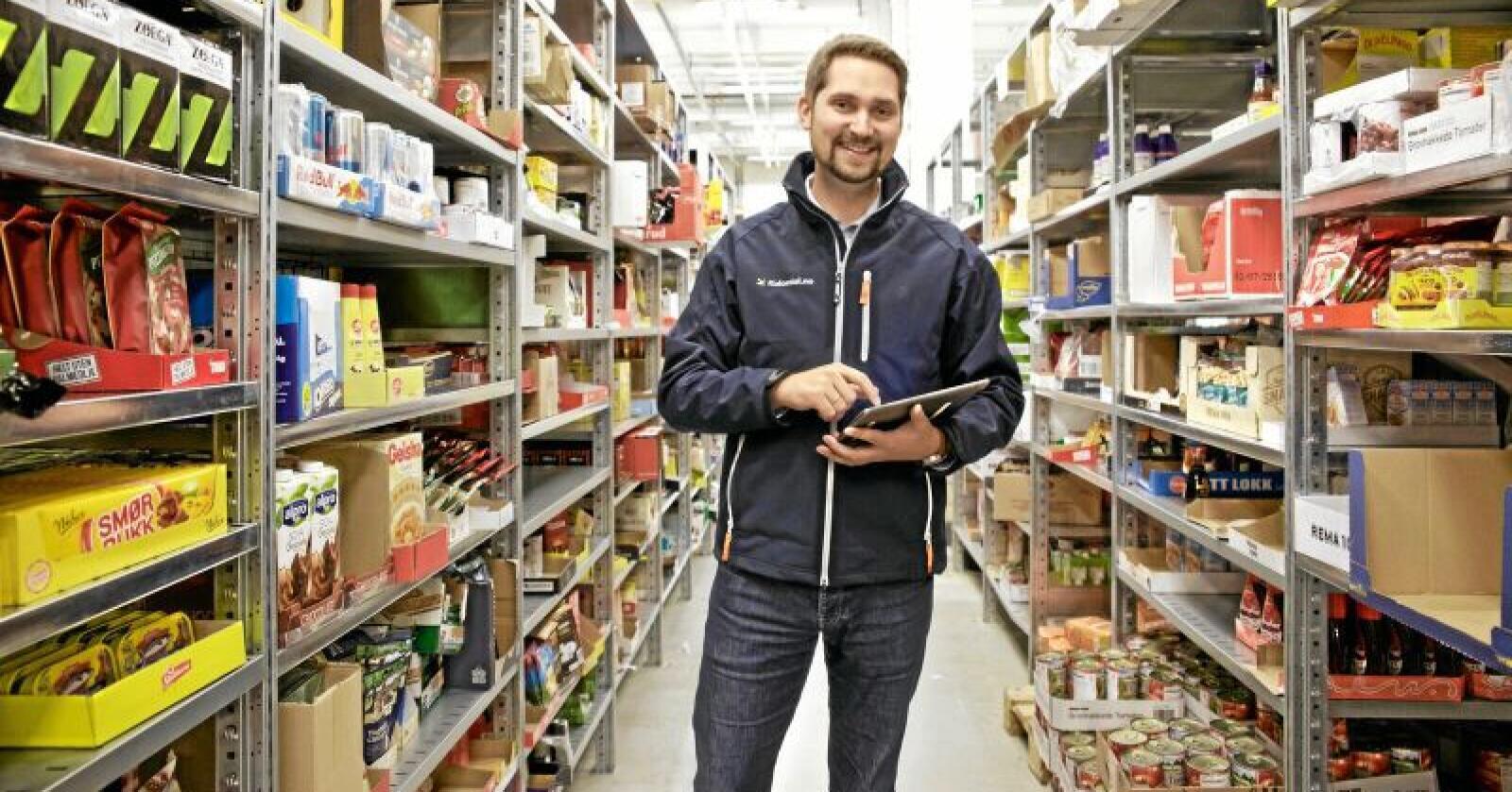 Karl Alveng Munthe-Kaas er tilhenger av å forby ulike innkøpspriser fra leverandører som har en dominerende markedsposisjon. Foto: Mats André Kristiansen / Kolonial.no