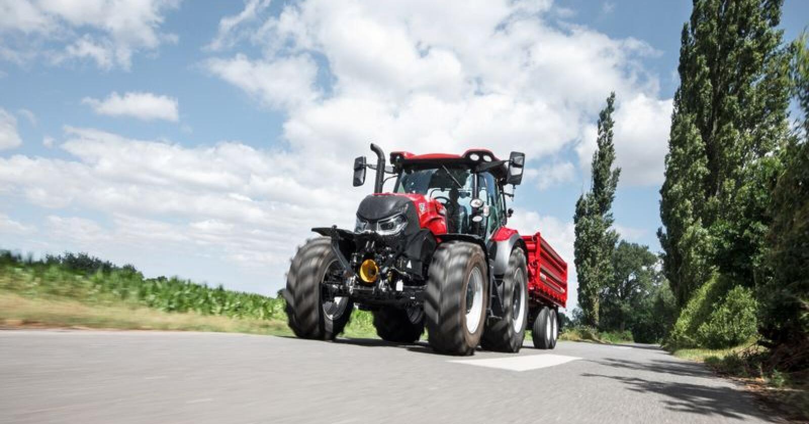 CNH kan med sin satsning på 3D-printa maskinkomponenter innlede en ny tidsalder for traktorproduksjonen. Foto: CNH