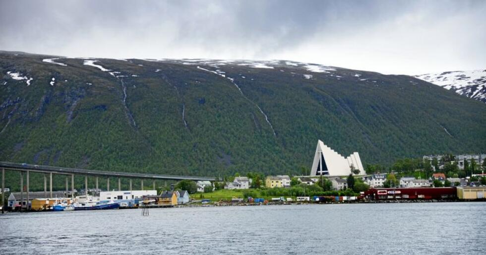 Nord-Norgebanen: Hva om en kunne ta toget til Ishavskatedralen i Tromsø? Foto: Siri Juell Rasmussen