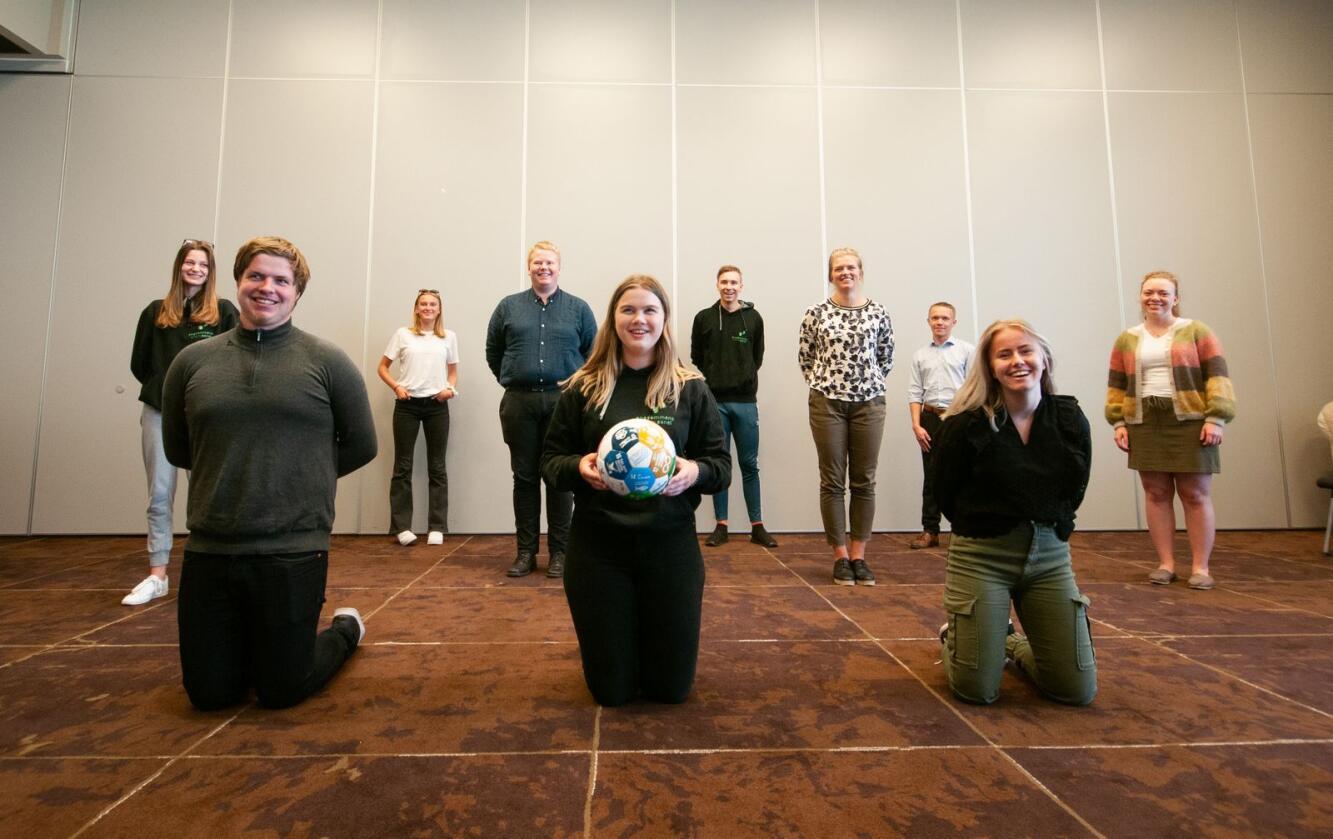 Ungdommens distriktspanel la måndag fram sine råd for korleis distrikta kan bli attraktive. Foto: Mats Pålsrud
