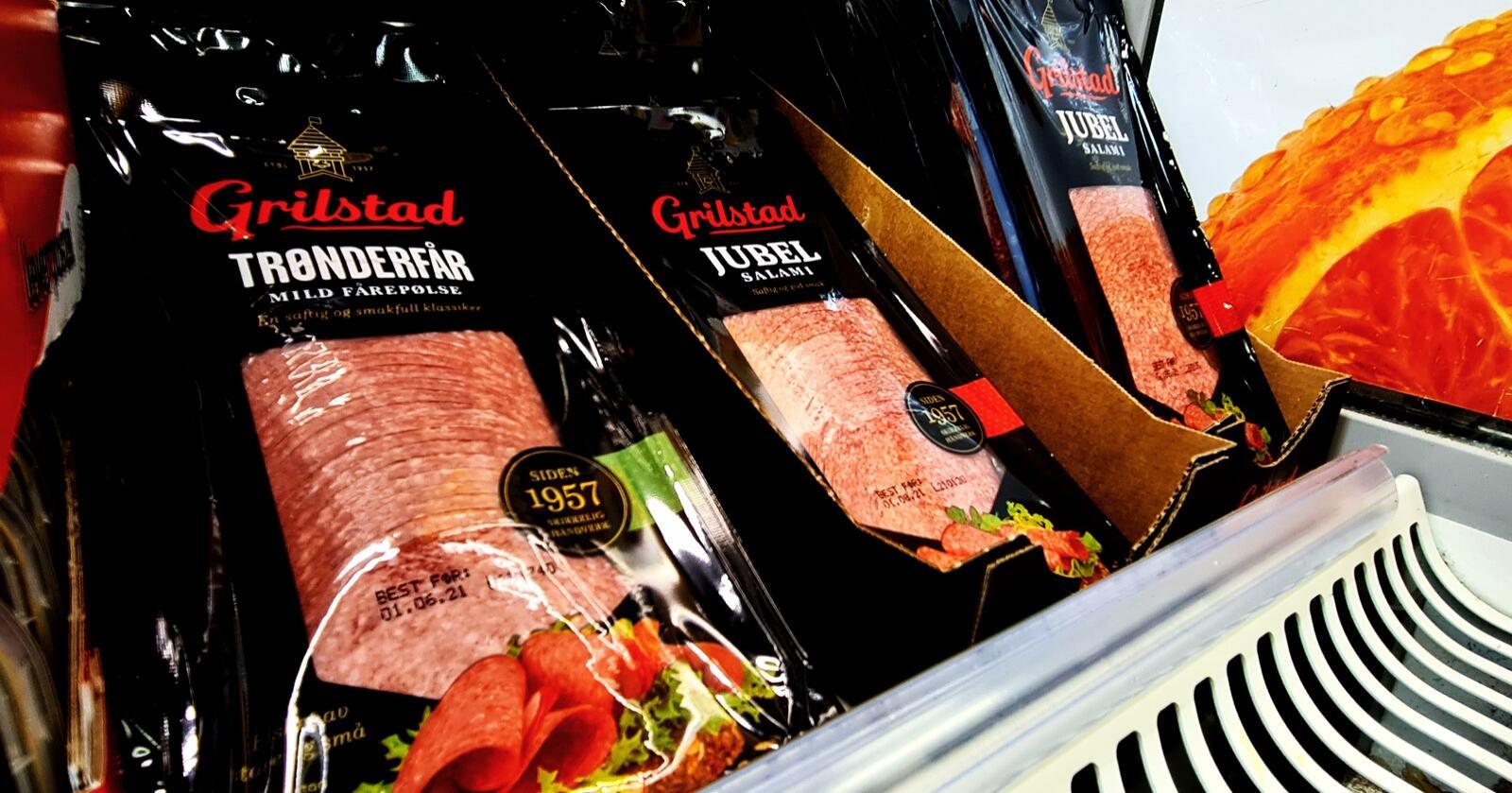 Kjøttprodukter hadde en prisøkning på 2,2 prosent i februar i år. Det er omtrent den samme prisoppgangen som matvarer og alkoholfrie drikkevarer hadde samlet. Foto: Jon-Fredrik Bækgaard Klausen
