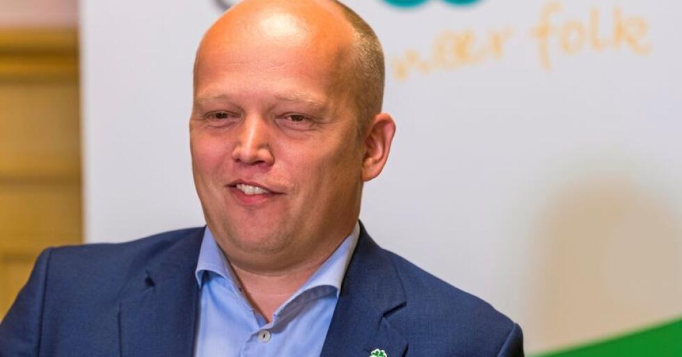 EØS-fornekter: Sp-leder Trygve Slagsvold Vedum. Foto:  NTB scanpix
