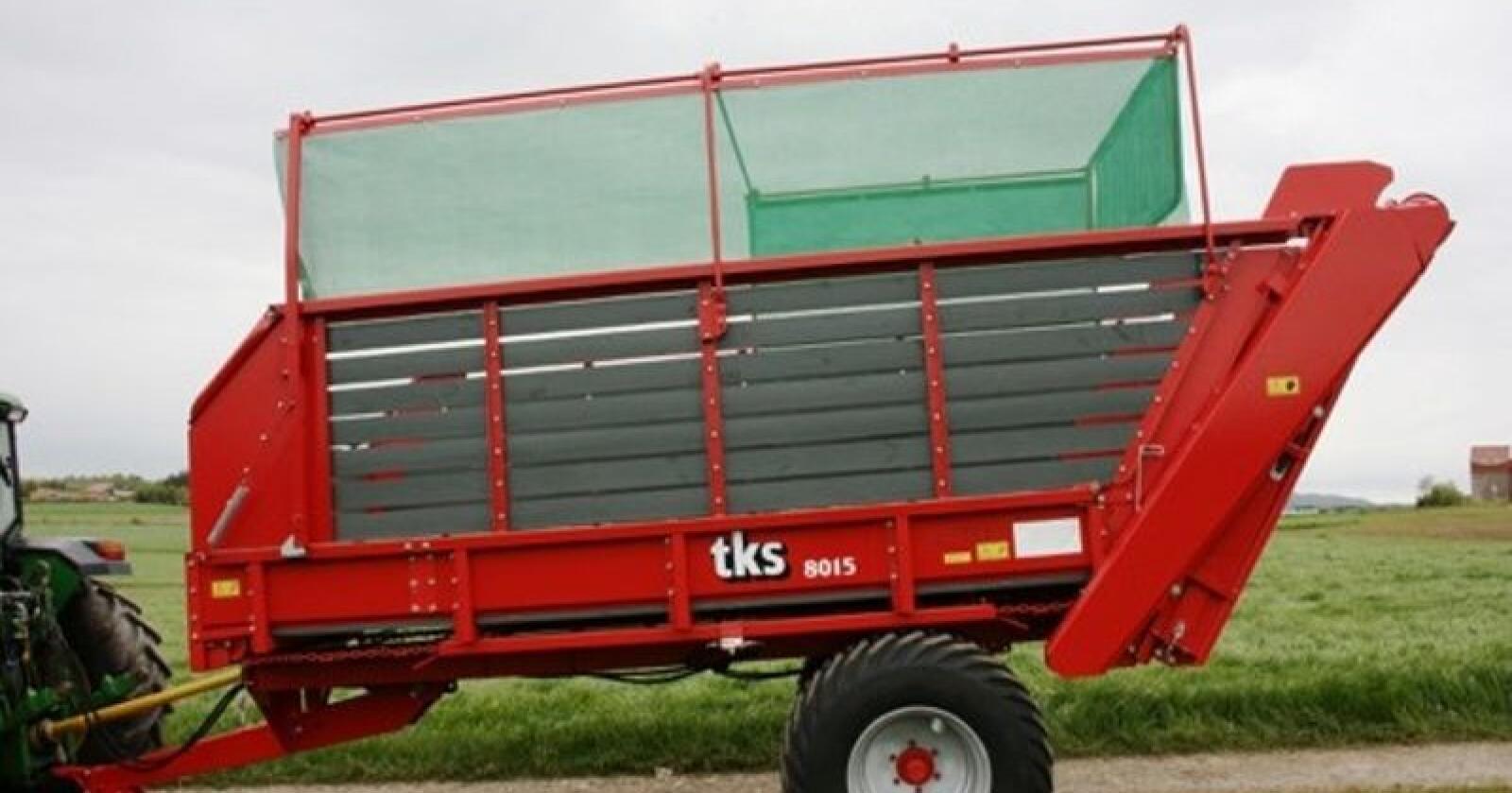 BRI Agri på Jæren har kjøpt rettighetene til TKS sin avlesservogn og vil sette både den og potetmaskiner fra Underhaug i produksjon igjen. Foto: Produsenten.