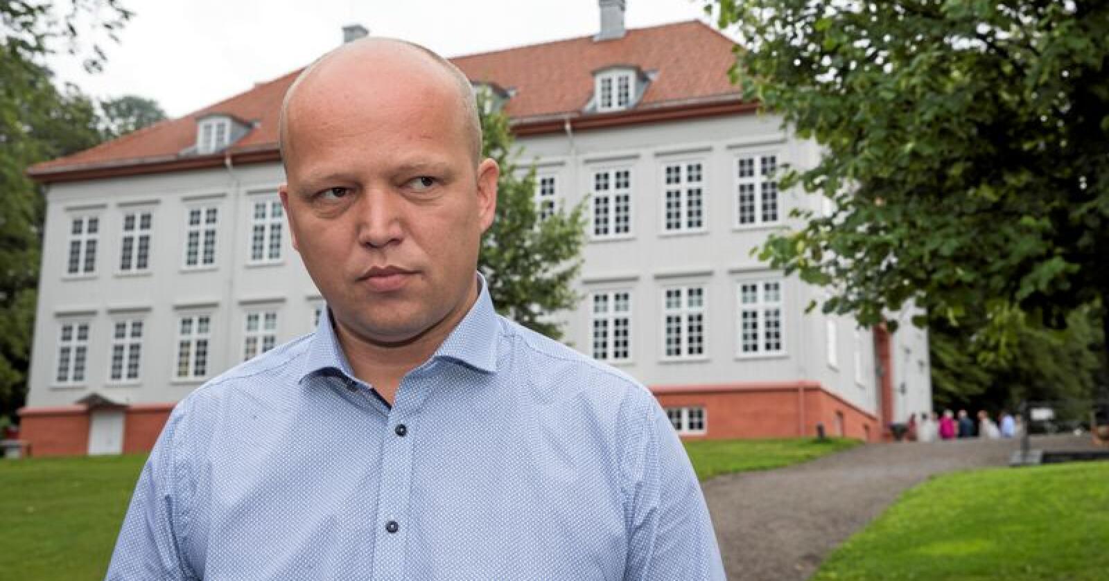 Sp-leder Trygve Magnus Slagsvold Vedum. Foto: Terje Pedersen / NTB scanpix