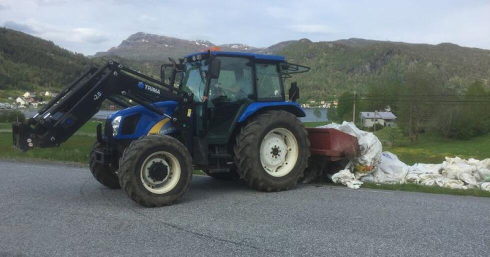 I 2018 gikk innsamlingen av landbruksplast med 7,5 millioner i underskudd. Ordningen går fortsatt med betydelig underskudd. (Foto: Karl Erik Berge)