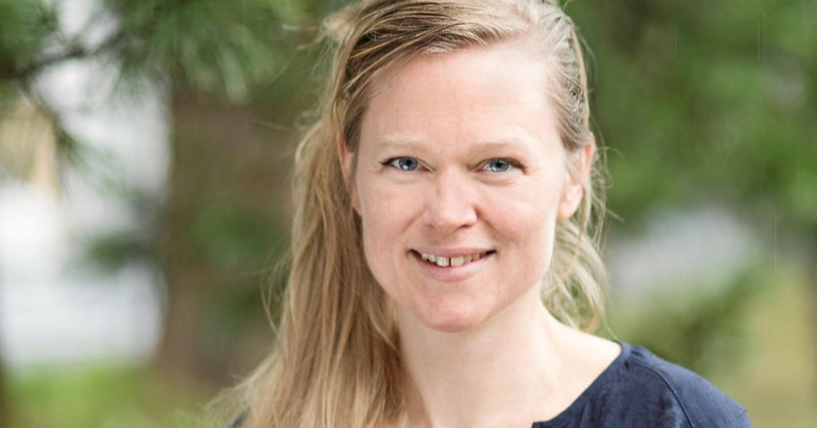 Eva Hustoft, Dyrebeskyttelsen. Foto: Privat