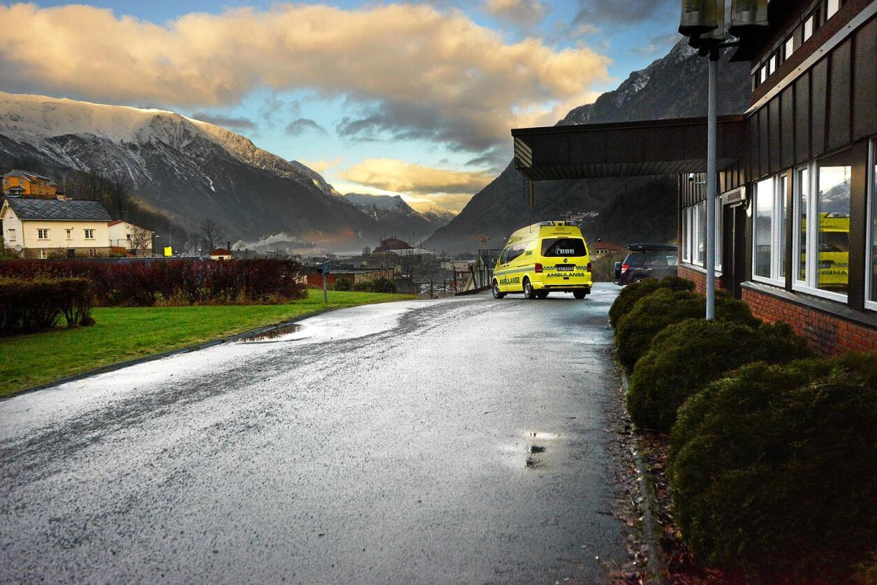 Kutter akutten: Helse Vest har vedtatt å legge ned akuttkirurgien i Odda. Foto: Siri Juell Rasmussen
