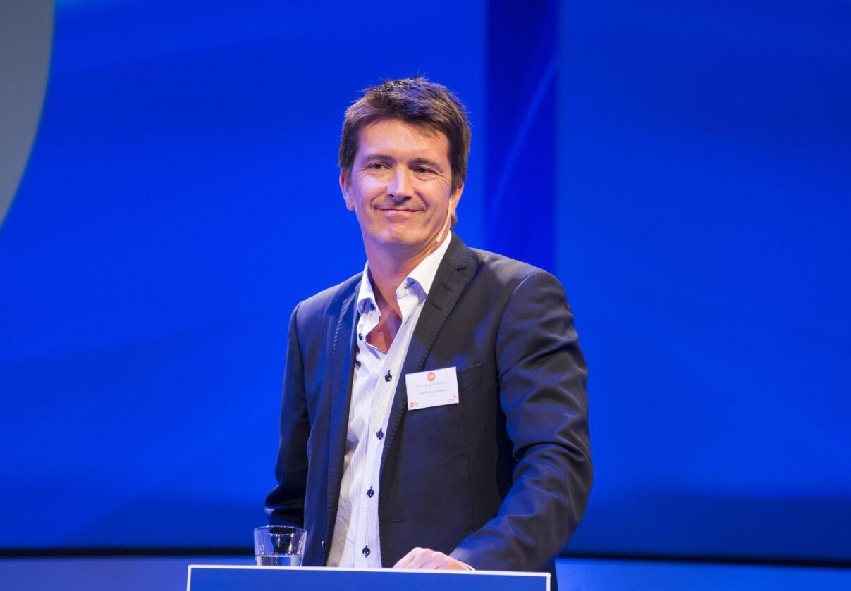 Ole Robert Reitan overtar som styreleder i Norsk Kylling. Foto: Tor Erik Schrøder / NTB scanpix