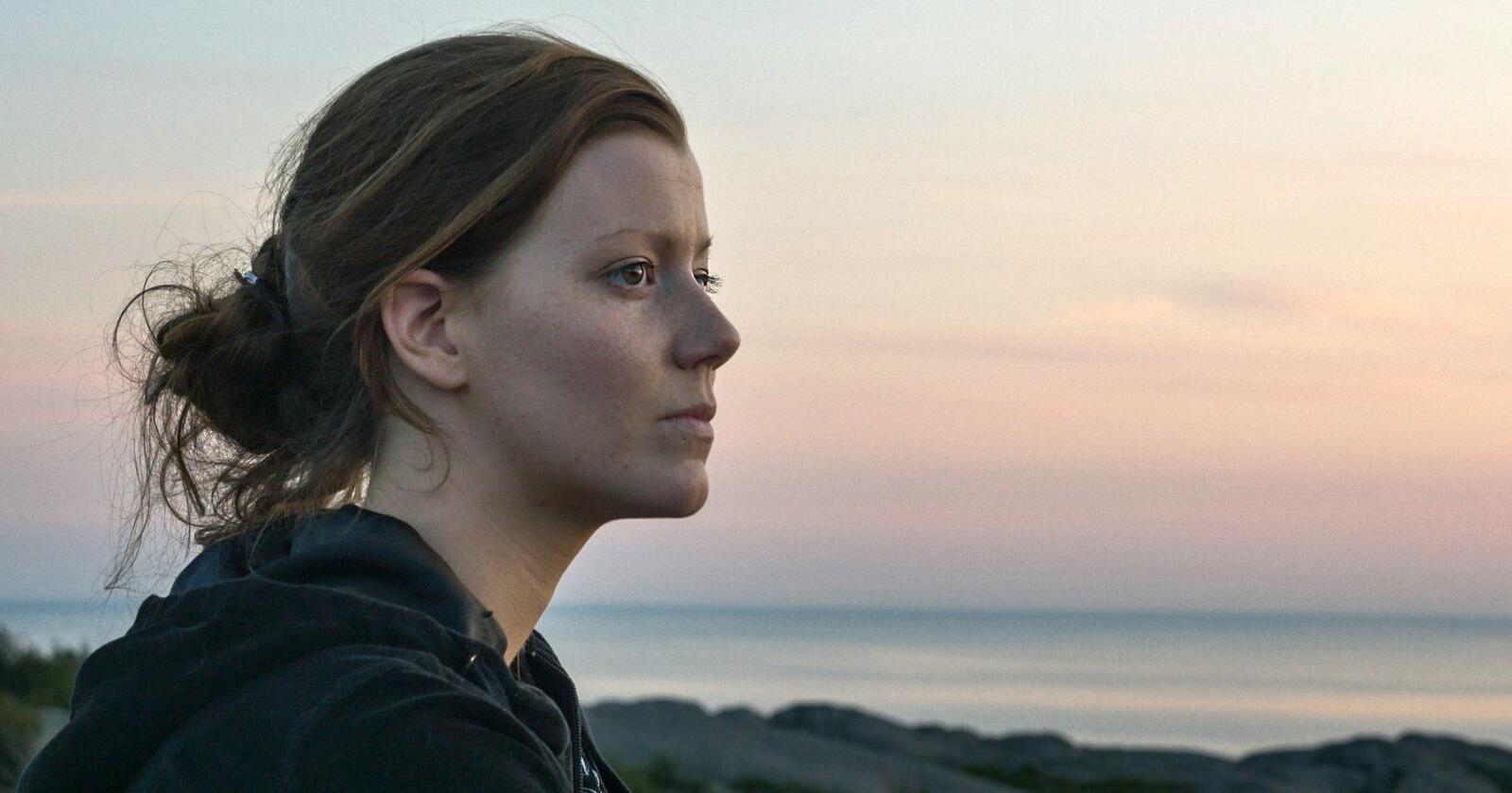 Norun Haugen som filma i dokumentaren Griseindustriens hemmeligheter, har ikkje gjort noko straffbart, meiner Økokrim. Foto: NRK
