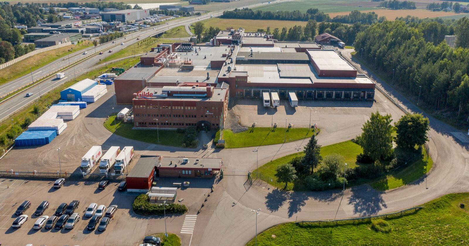 Skjæringen av gris på Østlandet skal samles her hos Nortura Tønsberg. Foto: Nortura
