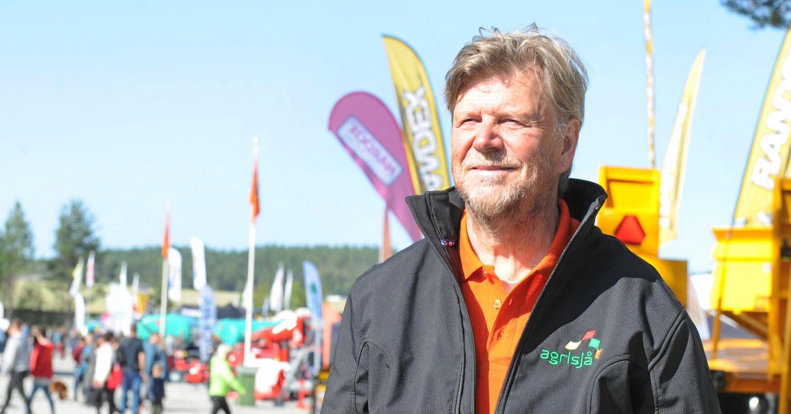 Daglig leder Ole T. Hofstad i Agrisjå. Foto: Agrisjå