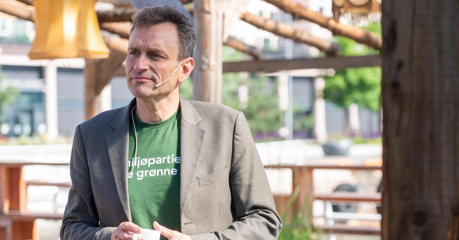MDGs nestleder Arild Hermstad skal lede partiets evaluering etter årets stortingsvalg. Foto: Terje Pedersen / NTB